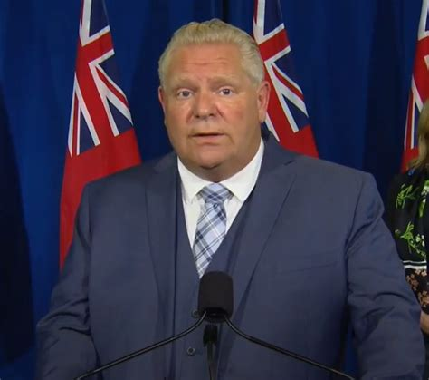 Ontario's premier will be joined by québec premier françois legault, manitoba premier brian pallister and alberta premier jason kenney. Doug Ford Announcement Today - Ontario Premier Joined By Finance Minister And Long Term Care ...
