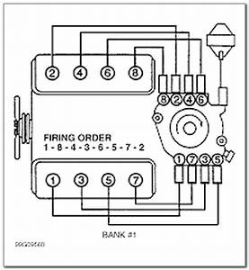 Chevy 454 Firing Order Diagram