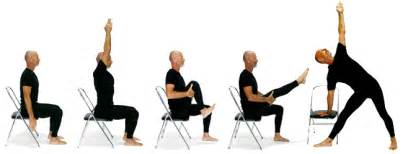 stress reduction with chair yoga seminar at guiding lights