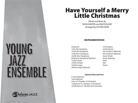 have your self a merry little christmas notes - Have Yourself A Merry Little Christmas Chords