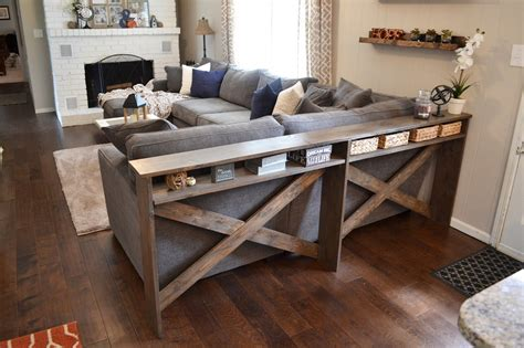 restoration hardware console table diy remodel the furniture with diy sofa table