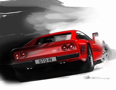 Get inspired by our community of talented artists. Ferrari 288 GTO Digital Art by Fred Otene