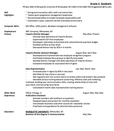 sales representative resume skills resumes design