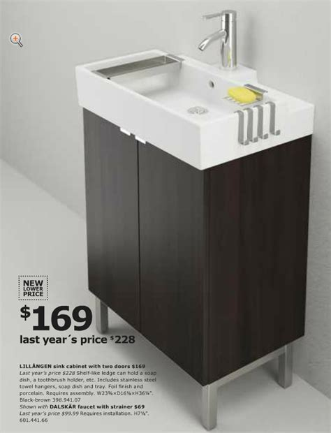 ikea lillangen sink cabinet from ikea usa 2013 catalog bathroom lill 197 ngen sink with