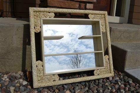 windsor mode mirror shadow box hanging shelf  mirror