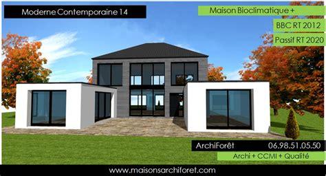 plan de maison 4 chambres plain pied gratuit plan et photo de maison avec etage ossature bois par