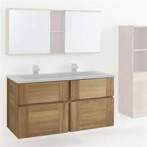 meuble sous vasque 120 cm essential castorama deco With meuble sous vasque 120