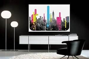 Tableau Deco Design : tableau deco new york cymk izoa ~ Melissatoandfro.com Idées de Décoration