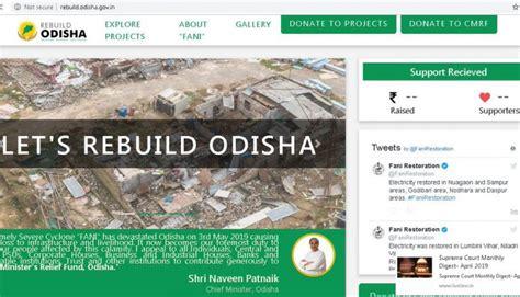 Cyclone Fani: Odisha CM launches