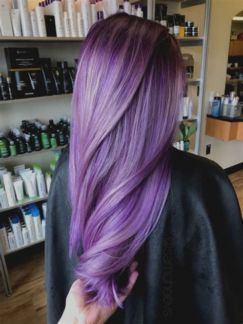 dye black hair purple  bleach quora