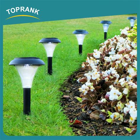 modern decoration plastic solar lights outdoor garden