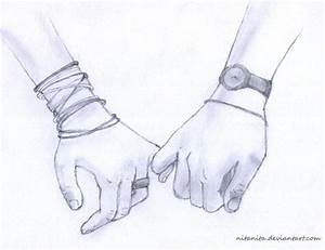 Couple Holding Hands Drawings Tumblr | art & diy ...