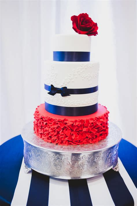eclectic red white and blue wedding ideas every last