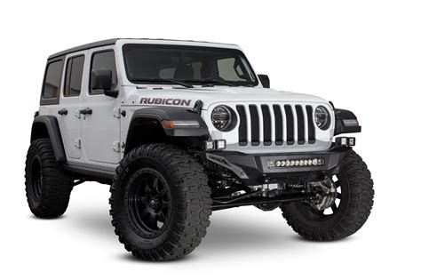 Jeep Wrangler Stealth Fighter Front Bumper Add