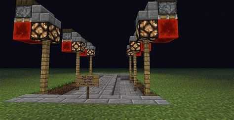Redstone Lamps At Night by Super Compact Redstone Day Night Lamp Minecraft Project