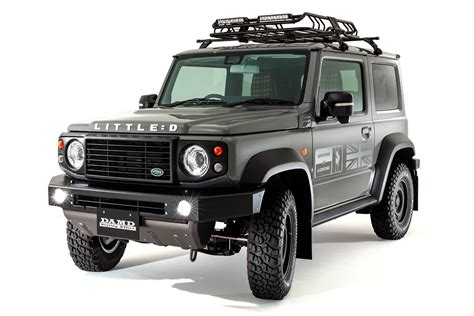 There are places in the world only the jimny can go. Suzuki Jimny With 'little D' Body Kit Resembles Old Land ...