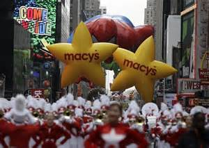 is threatening to make a about the macy s thanksgiving day parade the sue