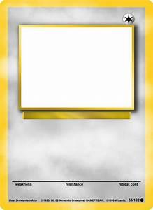 Blank Pokemon Card Template Blank Pokemon Card Mega