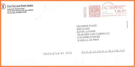 address envelope attn letter examples format