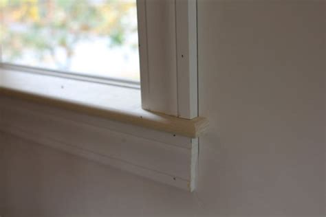 How To Make An Interior Window Sill how to install an interior window sill a concord carpenter