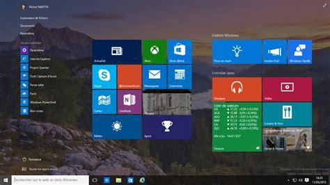 raccourci bureau windows 8 a la dcouverte de windows 10 insider preview