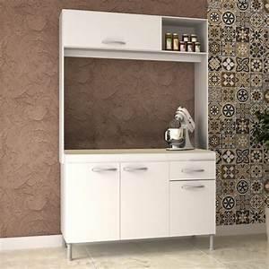 Mueble, De, Cocina, Compacta, Kit, Aereo, Y, Alacena