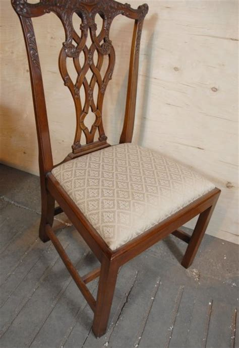 8 chippendale dining chairs for sale antiques