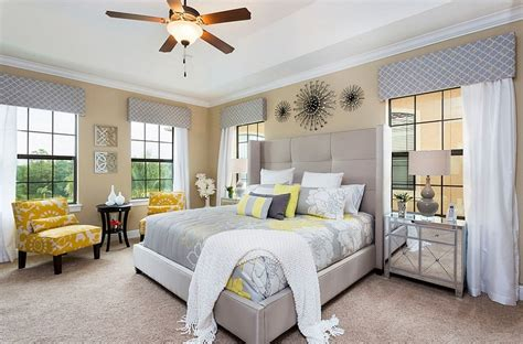Gray And Yellow Bedroom Ideas by Cheerful Sophistication 25 Gray And Yellow Bedrooms