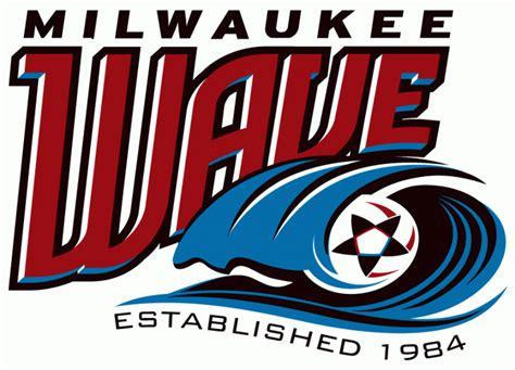 milwaukee wave primary logo major indoor soccer league