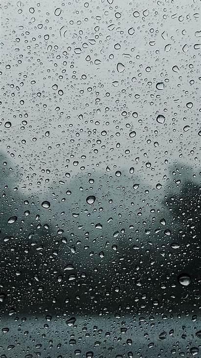 Rain Glass Drops Wet Iphone Background 6s