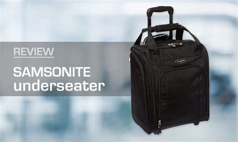rolling bag reviews review samsonite underseater carry on luggage wheeled
