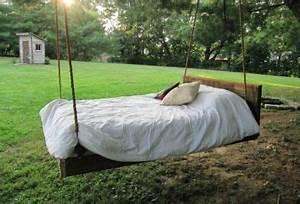 Bett Für Den Garten : einzigartige designs von h ngebett und h ngeschaukel ~ Frokenaadalensverden.com Haus und Dekorationen