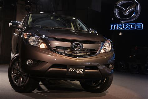 2016 Mazda Bt-50 (facelift) Launched In Thailand