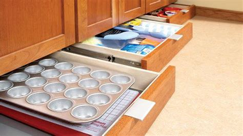 Add Extra Storage To Your Kitchen With Some Undercabinet