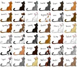 warrior cat names list wolflover12343