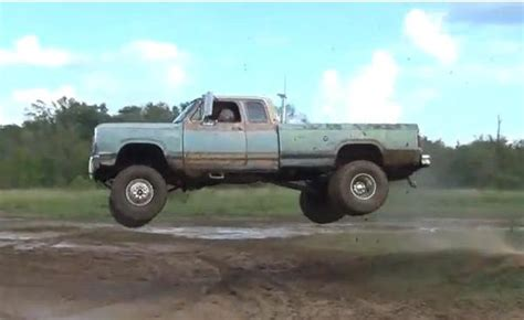 Muddy Mondays: 1st gen dually Ram takes flight