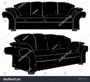 sofa vector stock vector shutterstock sofa and chair With sectional sofa vector