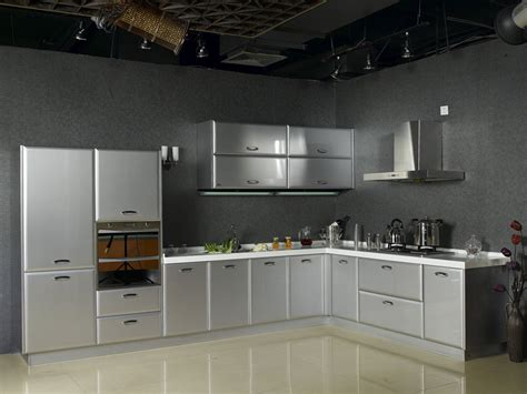 stainless steel kitchen ideas vintage stainless steel kitchen cabinet greenvirals style