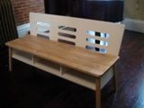 Entryway Benches Ikea by Vintage Ikea Nyhammar Bench Storage Shoes Shelf Foyer