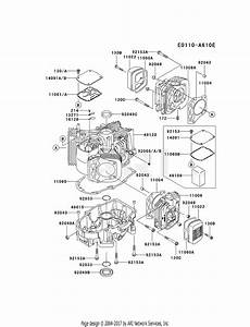 Kawasaki Engine Diagrams