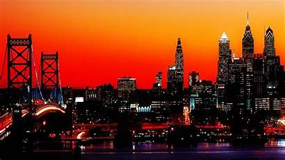 Philadelphia Skyline Night Desktop Philly Crafty Header