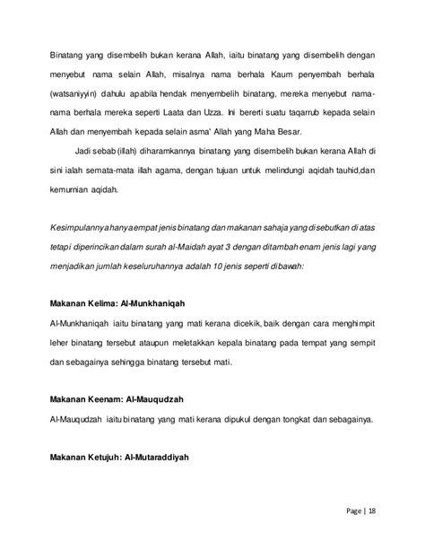 Prinsip-Prinsip Halal dan Haram