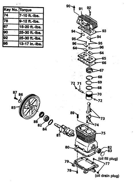 CRAFTSMAN AIR COMPRESSOR Parts   Model 919195411   Sears