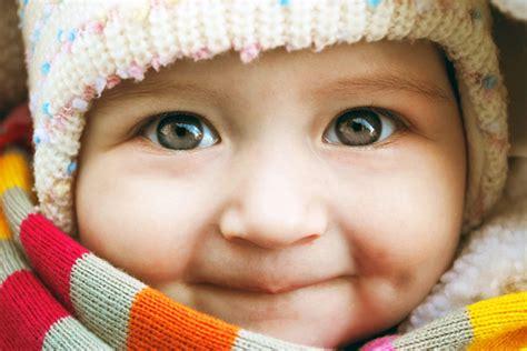 what age do babies eye color change infant vision development allaboutvision
