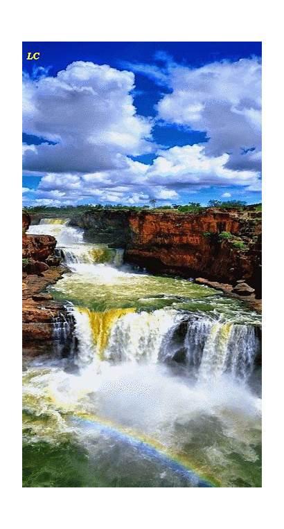 Nature Waterfalls Waterfall Amazing Gifs Most Animated