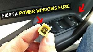 Ford Fiesta Power Windows Fuse Location Mk7 St
