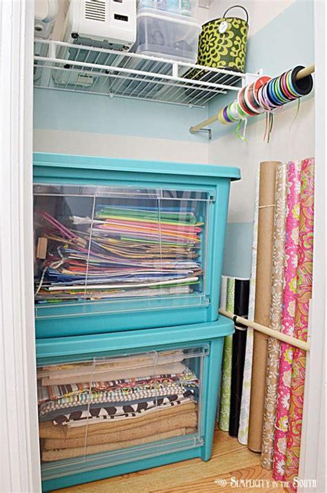 Organizing My Craft Closet Part One (small Home Big