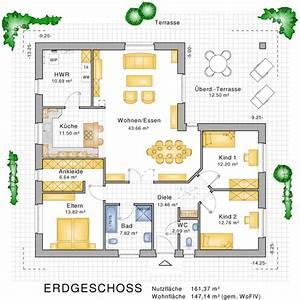 Bauen Zweifamilienhaus Grundriss : bungalows barrierefreies wohnen auf einer ebene ~ Lizthompson.info Haus und Dekorationen