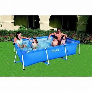 Hors Sol Piscine Intex : intex 58980fr piscine hors sol tubulaire rectangulaire ~ Dailycaller-alerts.com Idées de Décoration