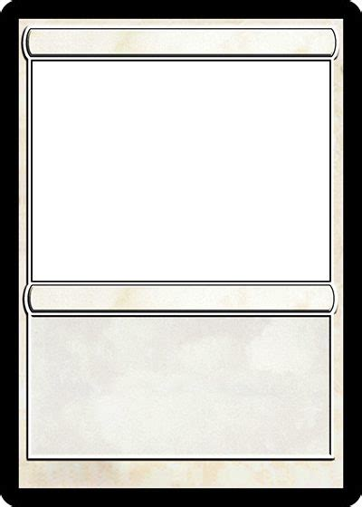 mtg proxy template blank magic card template theveliger